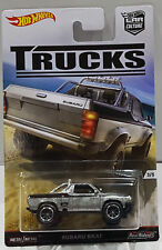 HOT WHEELS 2016 CAR CULTURE TRUCKS SUBARU BRAT REAL RIDERS / METAL DJF89