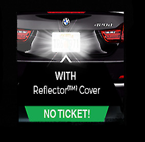 Anti Speed Camera & Red Light Traffic Camera Photo Blocker License Plate Cover