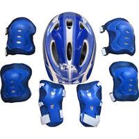 Boys Girls Children Kids Safety Helmet  Knee Elbow Pad Set Cycling Skate Bike