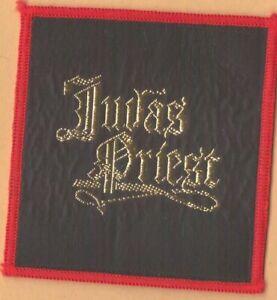 Judas Priest logo square vintage 1970s SEW-ON PATCH