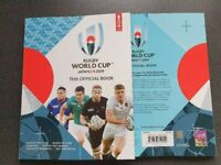 Japan 2019 Official Rugby Union World Cup Programme sent same day!