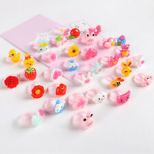 50Pcs Wholesale Mixed Lots Cute Cartoon Children/Kids Resin Rings Jewelry Gifts
