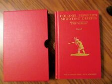 COLONEL HAWKER'S SHOOTING DIARIES, Eric Parker, Ltd Ed Slipcase, Derrydale Press