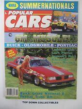 Popular Cars Magazine   Nov. 1987   Kevin Conners, 1970 Buick Gran Sport