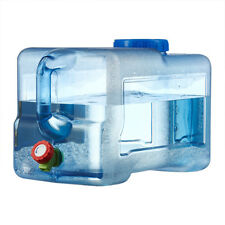 12L LTR Litre Camping Water Storage Container w/ Tap Handle Bottle Can Carrier