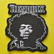 HEAVY METAL PUNK ROCK MUSIC SEW ON / IRON ON PATCH:- JIMI HENDRIX (a)