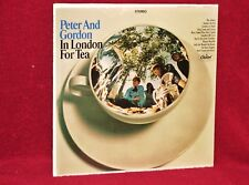 LP PETER AND GORDON IN LONDON FOR TEA 1967 CAPITOL STEREO SEALED ORIG PRESS