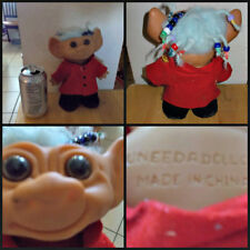 Vintage Troll Doll 1960s Uneeda Wishnik