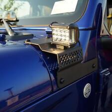 1x Métal Inférieur A-Pilier LED Lumière Support de montage Pour Jeep Wrangler JL