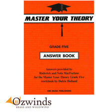 Master Your Theory Grade 5 Answer Book