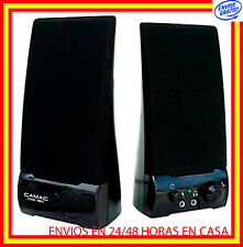 ALTAVOCES ORDENADOR USB 350W MULTIMEDIA PC DVD CD PORTATIL AMPLIF 10W Jack 3.5MM