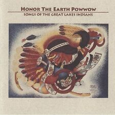 HONOR THE EARTH POWWOW: SONGS OF THE GREAT LAKES INDIANS - USED - LIKE NEW CD