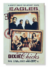 The Eagles And The Dixie Chicks 2003 Artists' Benefit Poster New Official