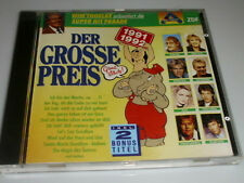 ZDF DER GROSSE PREIS 1991/1992 CD MIT BIANCA NICOLE AUDREY LANDERS JONNY HILL...