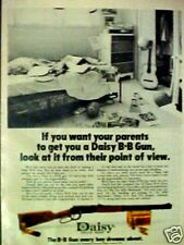 Daisy B B Gun Western Air Rifle Marksman Toy~1973~AD