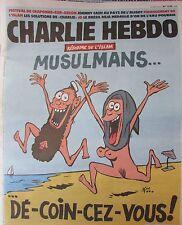 CHARLIE HEBDO No 1255 de AOUT 2016 REFORME ISLAM MUSULMANS ... DE-COIN-CEZ-VOUS