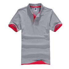 Men's Stylish Short Sleeve Golf Polo T Shirt Summer Casual Slim Fit Tops Shirts