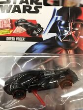 Star Wars Hot Wheels DARTH VADER WITH SWING OUT LIGHTSABER character car