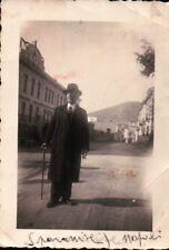 ANNI '30 - FOTO DI SIGNORE ELEGANTE A SPARANISE CASERTA NAPOLI