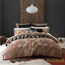 Logan and Mason MAHARAJA SPICE Animal Print King Size Bed Doona Quilt Cover Set