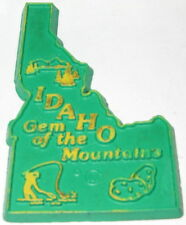 IDAHO SOUVENIR MAGNET STATE GEM OF THE MOUNTAINS