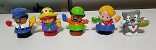 FISHER PRICE LITTLE PEOPLE PLASTICS FIGURINE TOYS