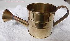 ARROSOIR  DE COLLECTION MINIATURE EN LAITON  ou VASE  ou cache pot