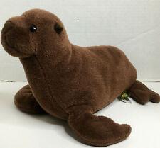 "Wild Republic UK Limited Sea Lion Brown Seal 12"" Plush Zoo Stuffed Animal Toy"