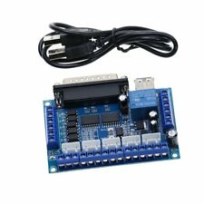 1pc MACH3 5axis CNC Breakout Board with optical coupler For Stepper Motor Driver