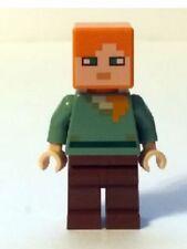 Lego Minecraft Minifig Alex MOJANG CREEPER VILLAGER 21121 21144