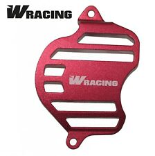 W Racing YX Sprocket Cover Guard Shield Protector Pitbike Engine Dirt Case RED