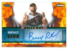 "BULLY RAY ""AUTOGRAPH CARD #23/50"" TNA IMPACT LIVE 2013"