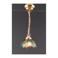 """Creal 2219 Hängelampe """"Tiffany"""" LED mit Batterie 1:12 für Puppenhaus NEU!      #"""