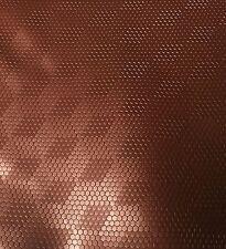 Kunstleder Meterware mit Rochen Struktur Braun Matt Glanz Effekt Lichtecht 1056