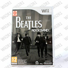 Beatles RockBand for Wii Console Guitar Hero Compatible *1ST CLASS POST*