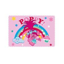 Coquelicot Les Trolls Rêves Doux Couverture polaire rose chambre d'enfant
