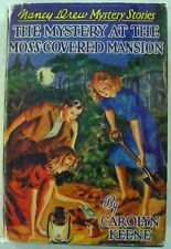 Nancy Drew TRUE FIRST The Mystery at the Moss-Covered Mansion hcdj Keene no.18