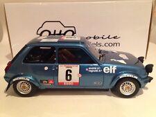 Otto mobile 580 Renault 5 Alpine-tour de corse 79 Ragnotti 1:18 échelle de résine