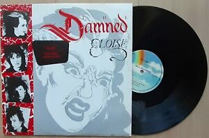 """THE DAMNED Eloise 12"""" PORTUGAL '86 [NEVER PLAYED] UK PUNK"""