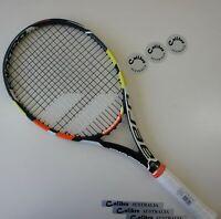 "BABOLAT AEROPRO DRIVE PLAY Tennis Racquet, STRUNG, Grip 3 (4-3/8"")"