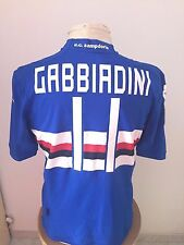 Maglia calcio Sampdoria Vs Empoli 2014 15 n 11 Gabbiadini match worn shirt