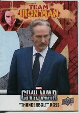 Captain America Civil War Team Iron Man Chase Card IMB6 Thunderbolt Ross