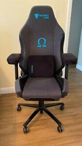 Secretlab Omega 2020 SoftWeave Fabric, Charcoal Blue, Gaming Chair