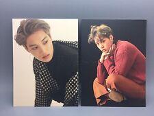 EXO KAI Official For Life Album Photo Postcard x2 NEW AUTHENTIC