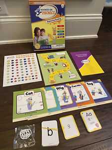 Hooked on Phonics BEGINNING READING 4-6 Pre-K to K Books, Letters, Stickers, Etc