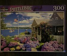 "PUZZLEBUG CraZart 18.25"" X 11"" Puzzle 300 Pc CAPE COD SUMMER DAY"