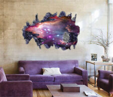 3D Galaxy Wall Sticker Decals Outer Space Removable Vinyl Art Home Decor Mural