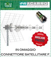 ANTENNA FRACARRO BLU5HDLTE BLU 5HD LTE 217910 UHF +(CONNETTORE OMAGGIO)