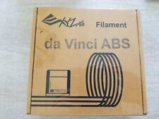 New XYZ printing filament for Da vinci Jr. ABS 600g nature.