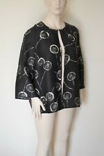 MARINA RINALDI by MAX MARA, Silk Blend Blazer, Size 27 MR, 18W US, 48 DE, 56 IT